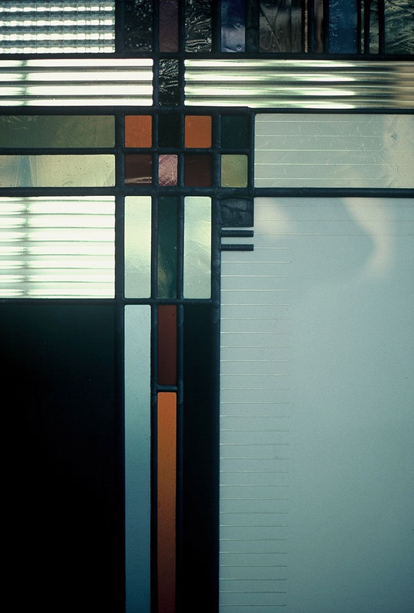 """Wickett Memorial Windows"" - geometric detail"