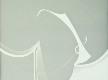 """Music for Kate Maloney"" - sandblasted - 18x18"