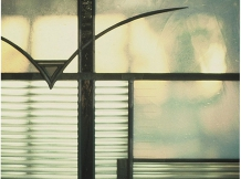 """Wickett Memorial Windows"" - bird detail"