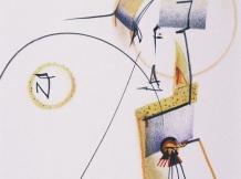 """""""Two Hearts"""" - graphite & colored pencil - 8x10"""