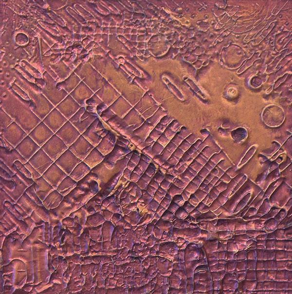 """Copper Base No.7"" - 4x4"