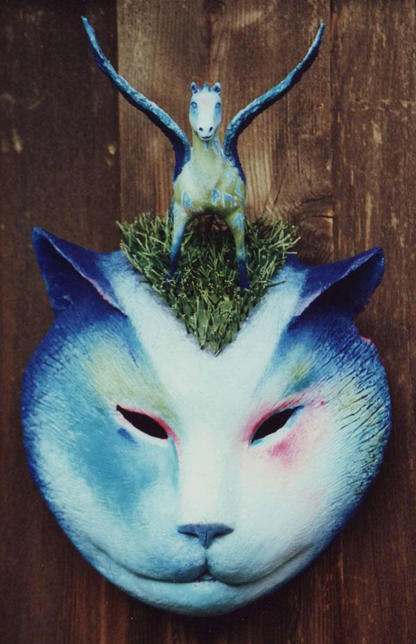 """""""Blue Cat's Dream"""" - 13x17"""