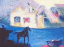 """Alice's Dream Horse"" - 8x8"