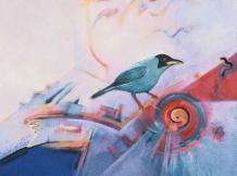 """Early Bird"" - 8x8"
