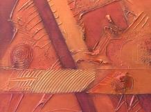 """Copper Base No.13"" - 8.5x8.5"