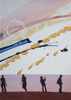 TINY ART-No.15-2.5x3.5